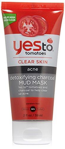 Yes to Tomatoes Detoxifying Charcoal Mud Mask, 2 O ...