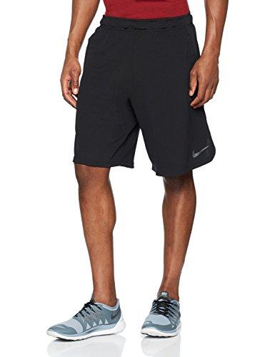 (NIKE Mens Dry Training Shorts,Black/Dark Grey,X-Large)