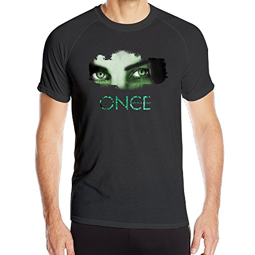 Price comparison product image PTR Men's HyperDri Once Upon A Time Athletic Short Sleeve Size M Black