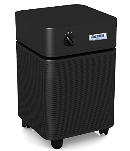 Austin Air B450B1 HealthMate Plus Air Purifier, Medical Grade HEPA Filter, for Chemical Sensitivities, Noxious Gases, and Volatile Organic Compounds (VOCs), Black