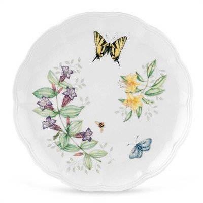 Tiger Pattern Plate (Lenox Butterfly Meadow Tiger Swallowtail Dinner Plates Set of 4)