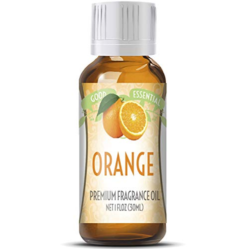 - Orange Scented Oil by Good Essential (Huge 1oz Bottle - Premium Grade Fragrance Oil) - Perfect for Aromatherapy, Soaps, Candles, Slime, Lotions, and More!