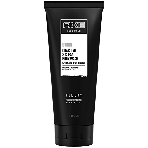 AXE Body Wash for Men, Charcoal & Clean, 12 Ounce