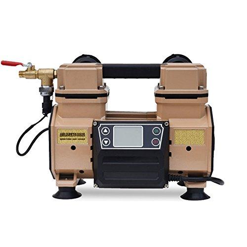 エアコンプレッサー 静音 100V タンクレス ブラシレス オイルレス 最大圧力0.9Mpa HG-DC880ver01