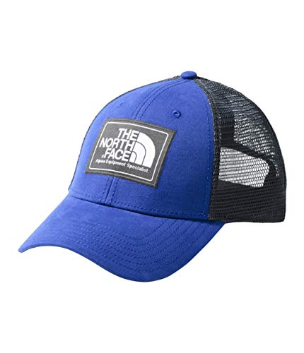 The North Face Unisex Mudder Trucker Hat Aztec Blue/TNF White One Size