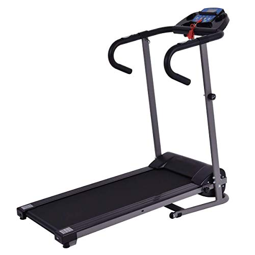 GYMAX 1100W Electric Folding Fitness Exercise Treadmill Jogging Incline Running Machine Home Gym