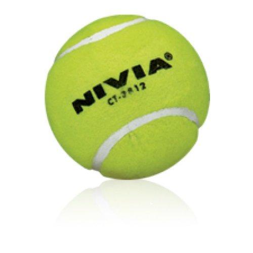 (Nivia Yellow Heavy Tennis Ball (Pack of 6))