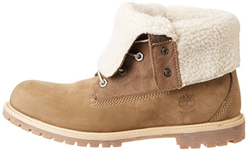 Tedy Nubuck Timberland Flce Marron Femme Boots taupe Wp Auth Rqwx1q58