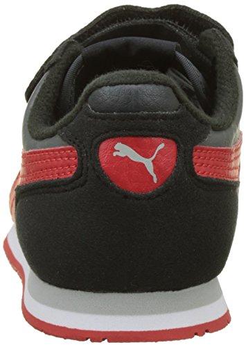 ... Puma Unisex-Kinder Cabana Racer SL V PS Sneaker Schwarz (Dark  Shadow-Flame ... c0ee6827c9