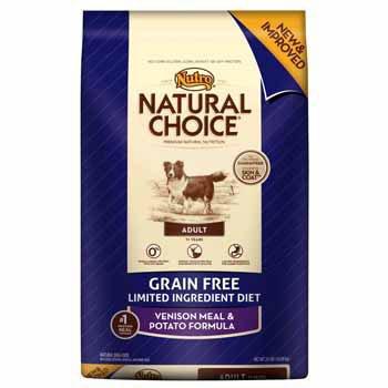 Natural Choice Grain Free Venison Meal and Potato Formula Adult Dog Food, 24-Pound, My Pet Supplies