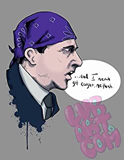 83508eed3 Amazon.com: Get Motivation Prison Mike The Office Poster Print (12 ...