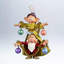 Hallmark 2012 Keepsake Ornaments QXD1014 A Very Merry Christmas Tree ~ Snow White and the Seven Dwarfs