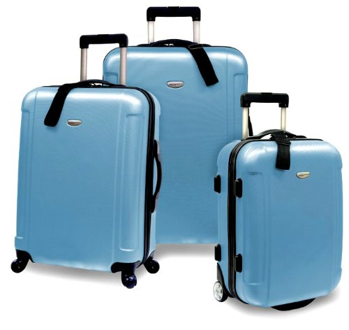 travelers-choice-freedom-super-lightweight-hardside-spinner-3-piece-luggage-set-artice-blue-20-inch-