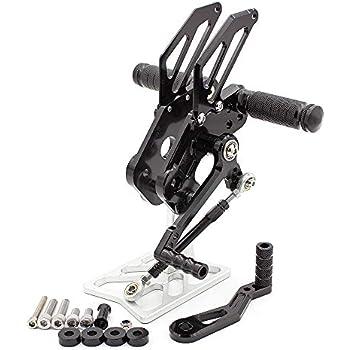 Amazon Com Fxcnc Racing Cnc Billet Motorcycle Adjustable Rearsets