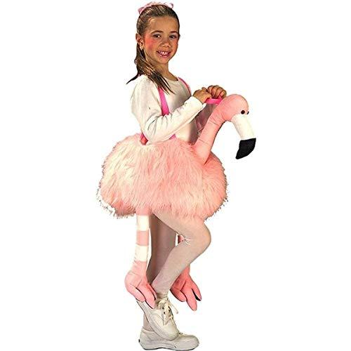 (Ride-A-Flamingo Stuffed Child)