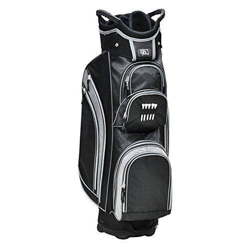 rj-sports-knight-cart-bag-black