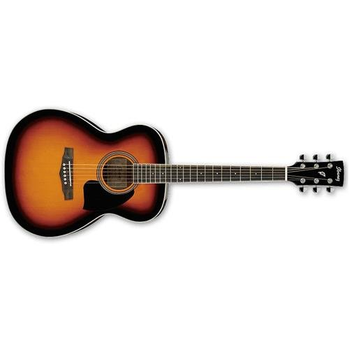 Guitar Body Vintage Acoustic - Ibanez Performance Series PC15 Grand Concert Acoustic Guitar Vintage Sunburst