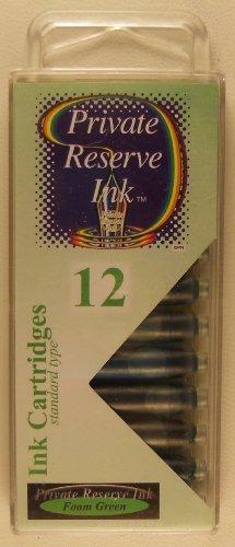 Private Reserve International Ink Cartridges Foam Green
