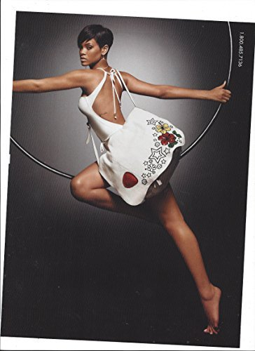 3 Page Large **PRINT AD** With Rihanna For 2009 Gucci Tattoo Heart Collection (Gucci Tattoo)