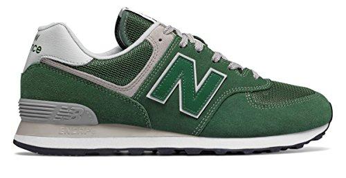 引退するスクラップ処方(ニューバランス) New Balance 靴?シューズ メンズライフスタイル 574 Forest Green フォレスト グリーン US 18 (36cm)