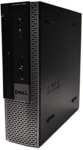 Dell Optiplex 990 Ultra Small Desktop PC, Intel Quad Core i5 Processor, 16GB RAM, 512GB Solid State Drive, Windows 10 Professional, DVD, HDMI, Bluetooth, Keyboard, Mouse, WiFi (Renewed)
