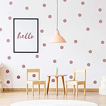 Wall Pops Wpd2137 Rose Gold Confetti Dot Decals Amazon Com