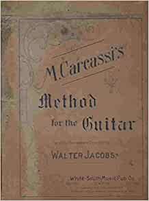 M Carcassi S Method For The Guitar Walter Editor Jacobs