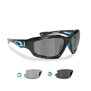 BERTONI Gafas de Sol Deportivas Polarizadas Fotocromáticas para Deporte Ciclismo MTB Pesca Esqui Golf Running Kitesurf