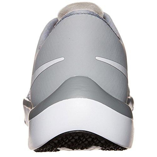 Trainer White Nike Plateado mtllc Free Scarpe Uomo 0 Slvr 5 Gry wlf Sportive Blanco White Gris V6 x7x4qrw
