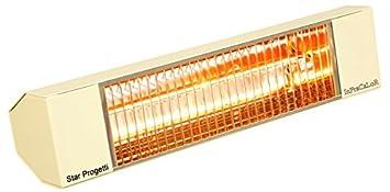 Estufa Calefactor eléctrico a lámparas intrarossi varmatec 1300 W Color Avellana ic1001 N