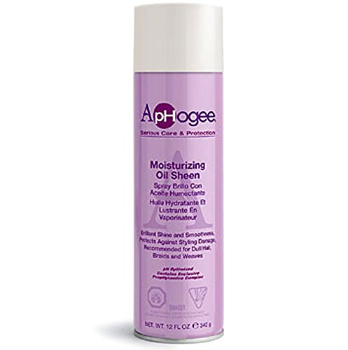 Aphogee Moisturizing Oil Sheen Spray, 12 -