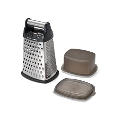 KitchenAid Gourmet Box Grater, Black