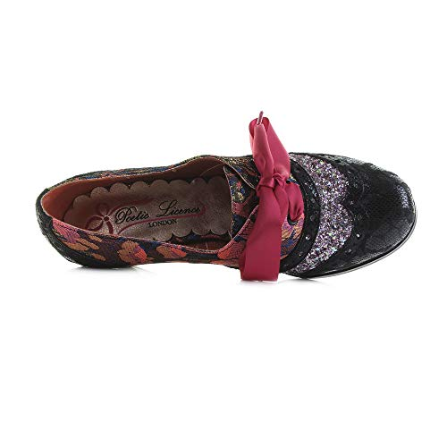 T Licence Pink Choice Beauty Poetic Corporate Dark Rouge Brogues by Femme Irregular UdCgPq