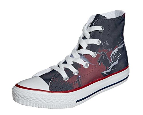 Star Demon Mixte artisanalPersonnalis� All Produit Converse Coutume Chaussures Adulte 5vHIBx
