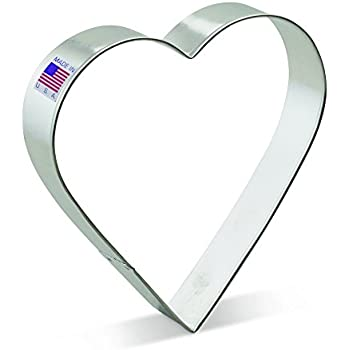 Ann Clark Heart Cookie Cutter - 5 Inches - Tin Plated Steel