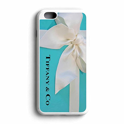Fany Co iPhone 6 / 6s Rubber Case White Frame Fit For iPhone 6 / 6s (Tiffany Co Iphone Case)