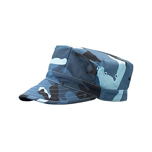 Hats & Caps Shop Camouflage Twill Army Cap - By TheTargetBuys | (BLUE.CAMO)