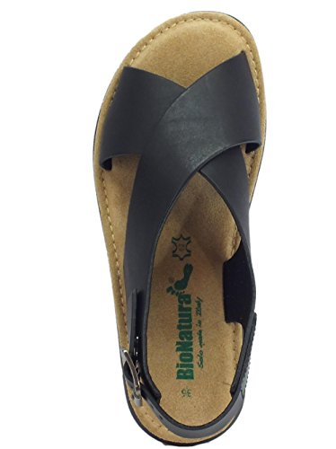Bionatura Women's Fashion Sandals Black M54019