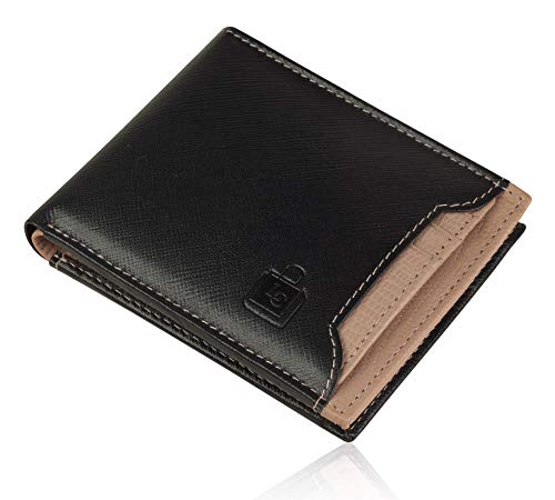 Le Craf Genuine Leather RFID Protected Wallet for Men