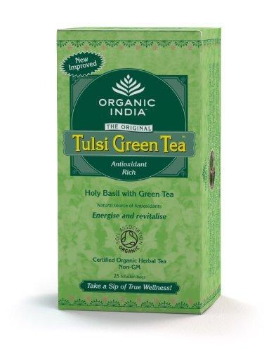 Original Tulsi Tea (Tulsi Green Tea 25 bags 25 Bags)