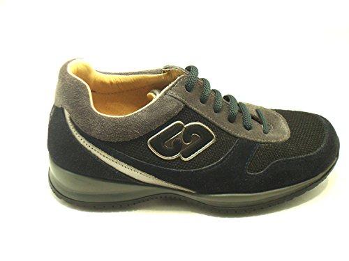 BALDUCCI Balducci Art Twin B 11355 - Zapatillas de Piel para niño negro negro