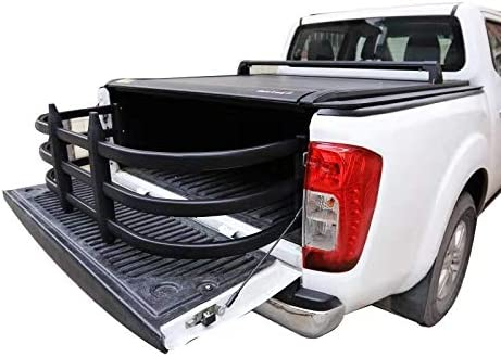 Wonder Tech Pickup Truck Bed Extender for 2003-2020 Dodge Ram 1500//2500//3500 Black Matte Aircraft Grade Aluminum Alloyed Included Bracket Kit Drilling is Required