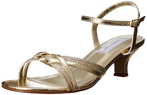 o UK3 estándar Touch ancho 10 Ups ajuste fiesta Zapatillas fiesta Gold disponible de de o Melanie nBEw6