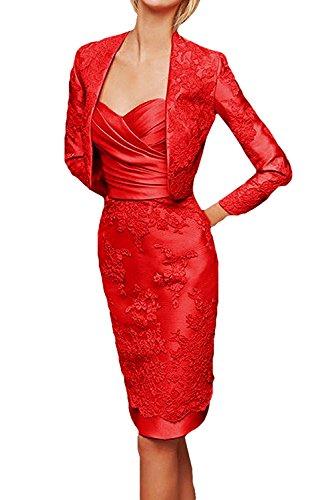 TOSKANA BRAUT - Vestido - para mujer Rojo