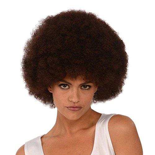 Kangaroo Costume Wigs; Brown Afro Wig; Unisex Afro -