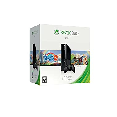 Xbox 360 4GB System Console with Peggle 2 Bundle