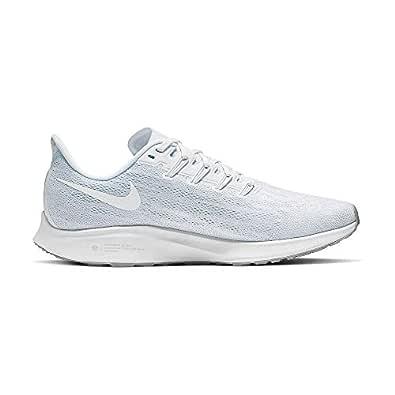 Nike Men's Air Zoom Pegasus 36 Running Shoe White/Half Blue/Wolf Grey/White 6 Medium US