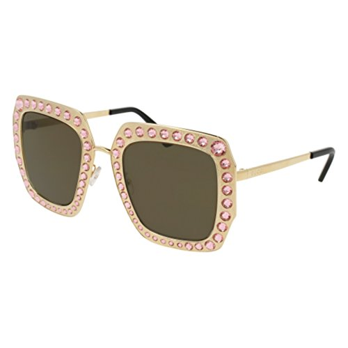 Sunglasses Gucci GG 0115 S- 003 GOLD /