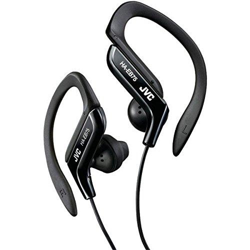 Jvc Headset - JVC HAEB75B Sports Clip Headphone (Black)