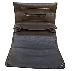 Rolling Tobacco Pouch/Case For Rolling Cigarette (Brown)